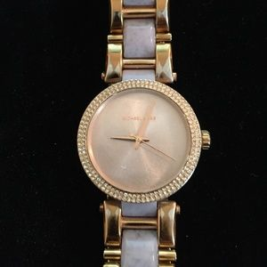 Michael Kors Delray Women's Rose Gold-Tone Watch